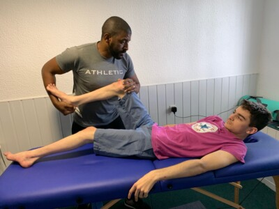 sesiones rehabilitación ataxia de friedreich en fundacion almar