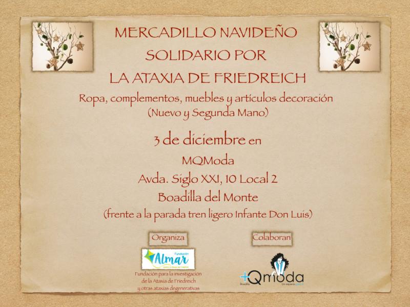 III Mercadillo solidario Fundacion Almar