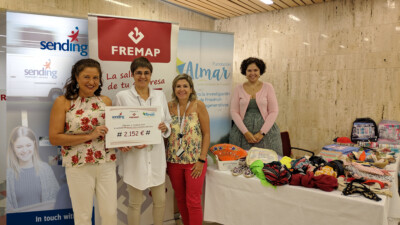 Fremap y Sending juntos apoyando a Fundación Almar