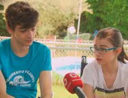 Telemadrid apoyando el Reto Deportivo Solidario: La Ataxia se mueve
